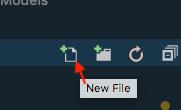 vscode new file