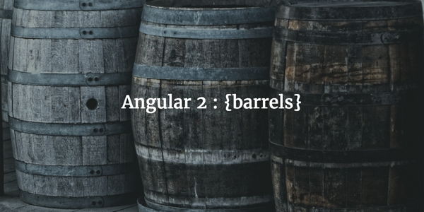Angular 2 : Organization Using {barrels}